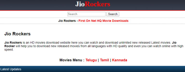 Jio Rockers Telugu Movies 2020