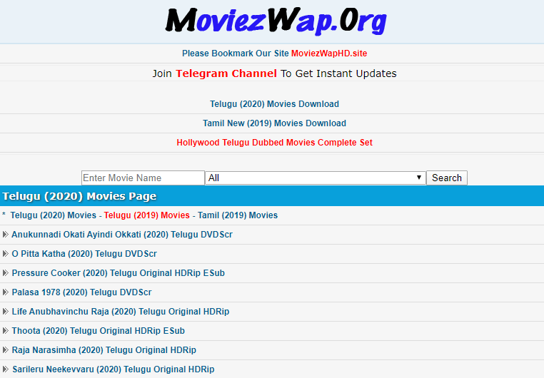 moviezwap telugu movies