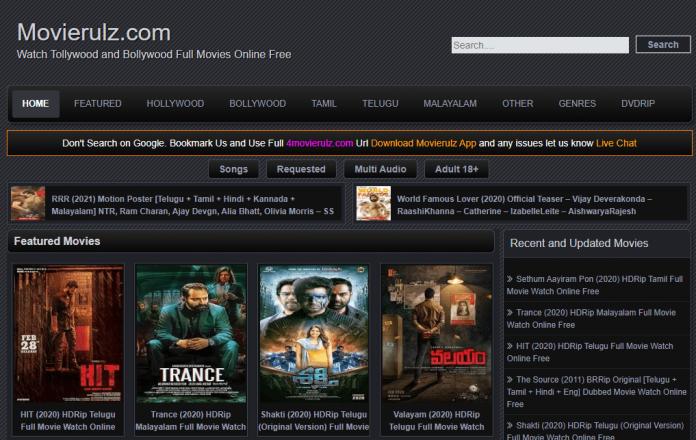 Movierulz Telugu Movies 2020