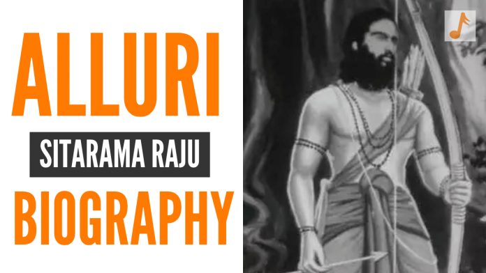 Alluri Sitarama Raju Biography in Telugu