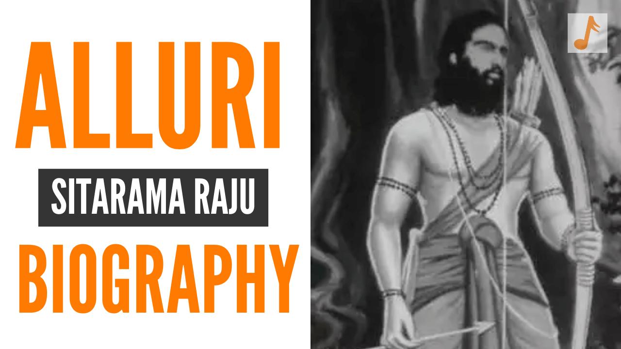 Alluri Sitarama Raju Biography in Telugu