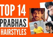 Top 14 Prabhas Hairstyles