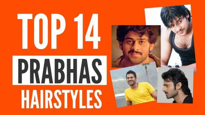 Top 14 Prabhas Hairstyles