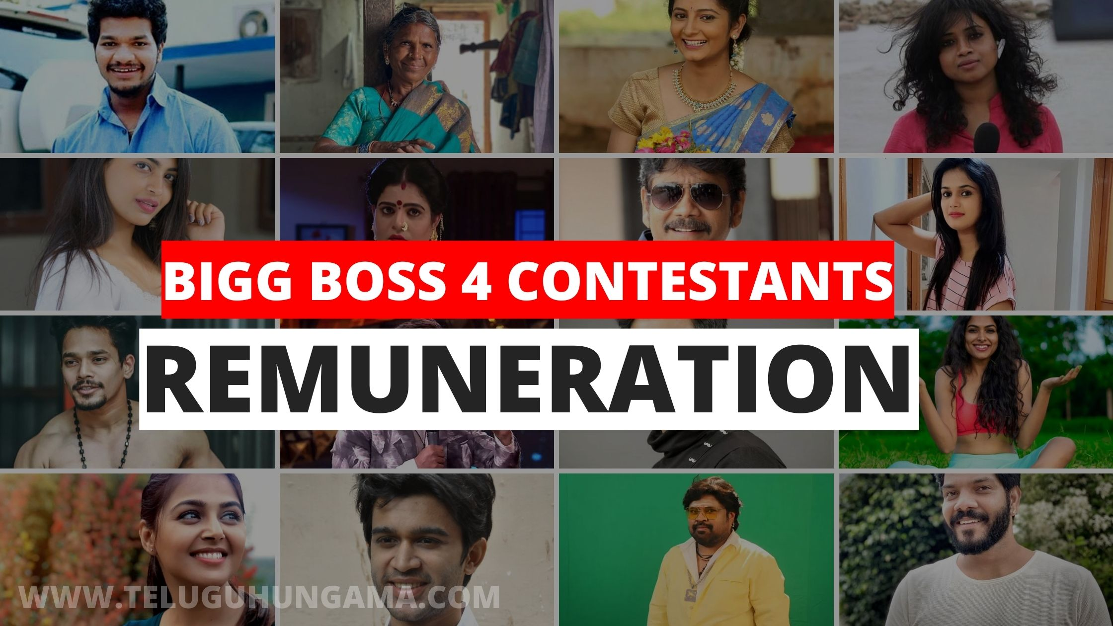 Bigg Boss Telugu 4 Contestants Remuneration
