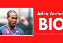 Jofra Archer Biography