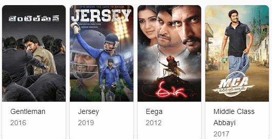 Nani Complete Movies List In Telugu