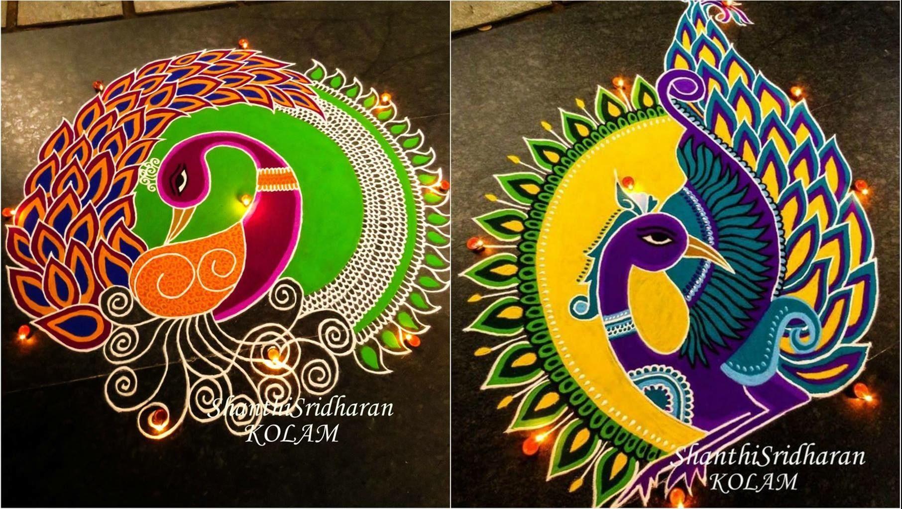 Sankranthi rangoli designs 2021