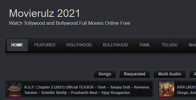 Movierulz Telugu Movies 2021