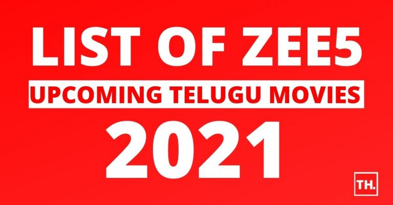 ZEE5 Upcoming Telugu Movies 2021 Read more at www.TollywoodBuzz.com: https://www.tollywoodbuzz.com/zee5-upcoming-telugu-movies/