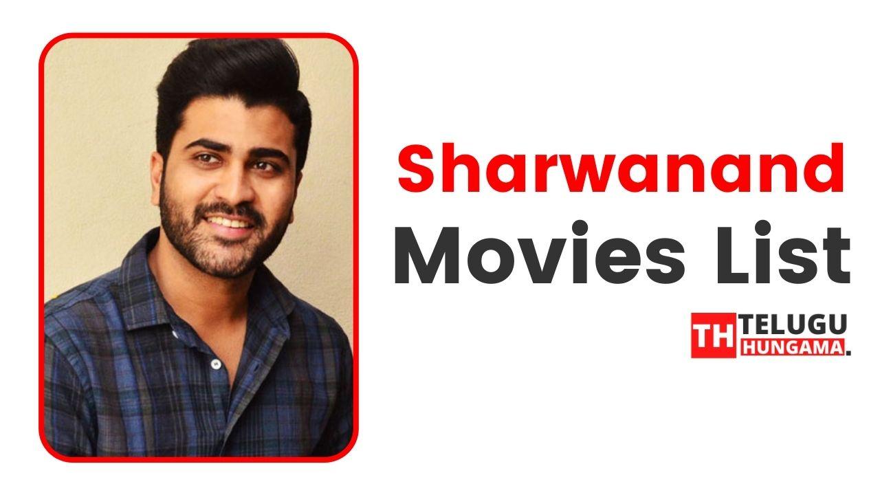 Sharwanand Movies List