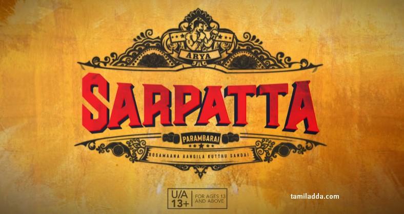Sarpatta Parambarai Review